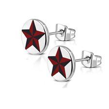 Edelstahl Ohrringe 8mm Ohrstecker unisex Stainless steel earrings y-ttf062
