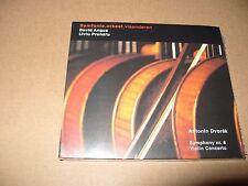 Antonin Dvorak Symphony nr. 8 Violin Concerto David Angus Liviu Prunaru cd New