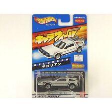Bandai Hot Chara Wheels Back To The Future Delorean Japan new.