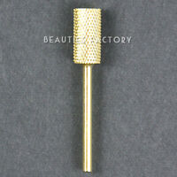 Electric Cylinder Carbide File Drill Bit Nail Art Manicure Pedicure Tool