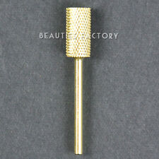 Electric Cylinder Carbide File Drill Bit Nail Art Manicure Pedicure Tool
