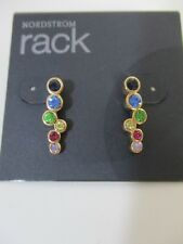 Nordstrom Rack Multi Color Stick Earrings NWT $50