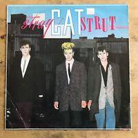 Stray Cats Stray Cat Strut 1983 Vinyl LP Arista Records SCAT 123
