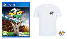 DINO DINI'S KICK OFF REVIVAL INCLUDES T-SHIRT LIMITED EDITION PS4 BRAND NEW