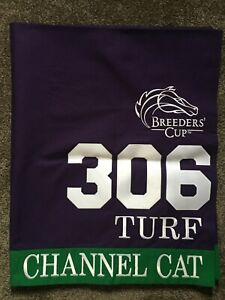 CHANNEL CAT 2019 BREEDERS CUP TURF EXERCISE SADDLE CLOTH