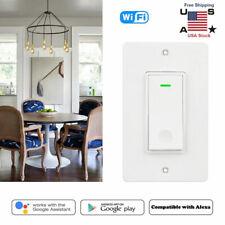 WiFi Wall Light Switch Wireless Remote Control Timer Switch Smart Life US Plug