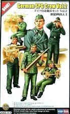 Hobbyboss 1:35 German SPG Crew Figures Vol.2 WWII Era Model Kit