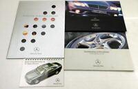 Mercedes Benz CL + AMG C215 4 Prospekte Bedienungshinweise