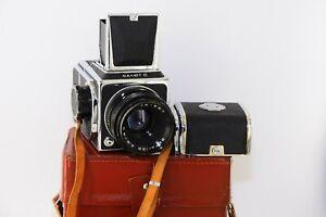 RARE SALUT C USSR MEDIUM Format 6x6 HASSELBLAD COPY FILM camera w/s Lens VEGA-12