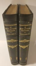 2 Vol. Set: Confessions of Jean Jacques Rousseau, English Prose by W.C. Mallory