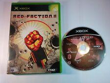 Red Faction II (2) - Original Xbox - PAL - Free, Fast P&P!