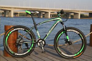 Brand New Cyber 2020 EURO Black&Green Color 27.5 inch 21SP Shimano Mountain bike
