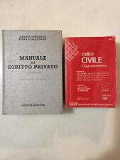 TORRENTE-SCHLESINGER, Manuale di diritto privato, 18a edizione 2007 + Cod.civile