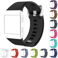 KQ_ Fashion Adjustable Sport Silicone Watch Band Wrist Strap for Fitbit Ionic We
