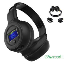 Stereo Bluetooth Wireless Headset/Headphones With Call Mic/Microphone Black