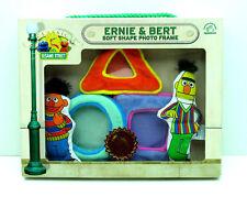 Sesame Street Bert Ernie Plush Applause Soft Shape Photo Picture Frame Baby 9772