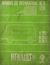 RTA revue technique automobile M.R.128 RENAULT ESTAFETTE R2132 R2133 R2134