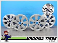 4 WHEELS BMW OEM 16X7 USED RIMS 5X120 ET: 47 BMW 3 SERIES 2001 - 2006 MIAMI 7X16