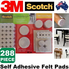 Scotch 288 Pcs Self Adhesive Felt Pads Heavy Duty Furniture Floor Protector