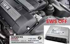 BMW ECU DME Ews IMMO deleted M52tu e46 e39 e38 328i 528i 323i 523i 320i
