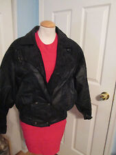 preston&york leather jacket m