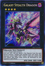 x1 Galaxy Stealth Dragon - DRL3-EN030 - Secret Rare Yu-Gi-Oh! M/NM