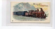(Jd2957) WILLS,LOCOMOTIVES & ROLLING STOCK,ST.GOTHARD & BALE EXPRESS,1902,#10