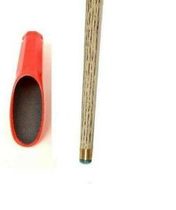 RED ROUND POOL or SNOOKER Cue Tip Shaper - Sander