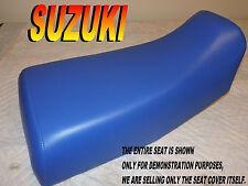 Suzuki LTF300 LTF250 New seat cover 1987-98 LTF 250 300  King quad 4X4 blue 882A
