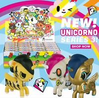 "Tokidoki UNICORNO 2.5"" VINYL ART FIGURE Series 3, unicorn pony like kidrobot UK"