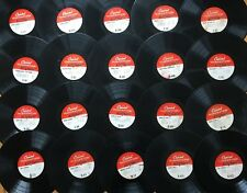 "Lot of 20x CAPITOL 16"" TRANSCRIPTION DISCS~All Pictured~Many Rare & Unknown! #5"