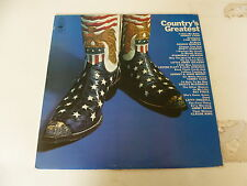 Country's Greatest Hits - Early 1970's UK 14-track LP compilation