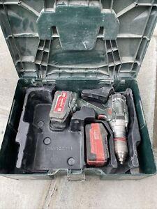 Metabo SB 18 LTX Impuls 18V Combi Drill & Charger & Batteries