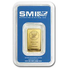 5 Gram Sunshine Minting Gold Bar - TEP Packaging - SKU #83065