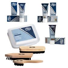 HAIX Schuhpflegemittel-Set Bürsten-Set + 1 Tube Schuhcreme Leder-Pflege Stiefel