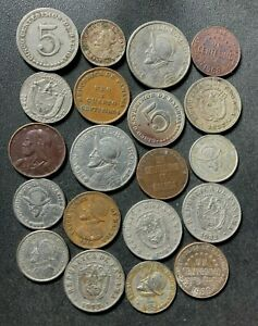 Old Panama Coin Lot - 1907-PRESENT - 20 Excellent Coins - Lot #A8