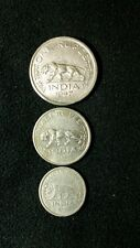 old british india 3 rare coin set