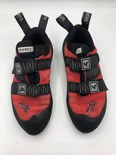 Boreal Joker Plus Red Climbing Shoes Eva Anti-Shock Heel Women's Size Uk 7 Usa 9
