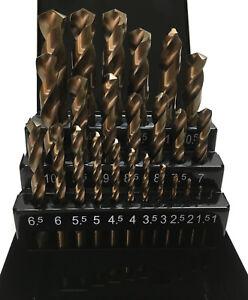 Hss-G Bohrer Co Spiralbohrer Satz Cobalt Metallbohrer Set Kobalt Edelstahl 1-13