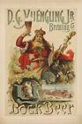 11x17 Print: D.G. Yuengling Jr. Brewery, Bock Beer, New York 1880