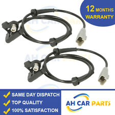 2X REAR ABS SPEED SENSOR FOR PEUGEOT 308  (07-17) DRIVER AND PASSENGER SIDE