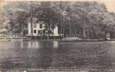 Great Barrington Masssachusetts Turners Grove on Lake Buell antique pc Z14491