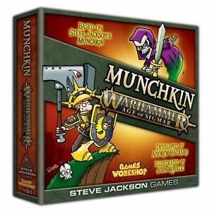 MUNCHKIN WARHAMMER - Age of Sigmar - Steve Jackson Games - Board Game - NEW