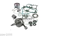 KAWASAKI KX 250F  FULL ENGINE REBUILD KIT CRANK PISTON  MAINS GASKET KXF250