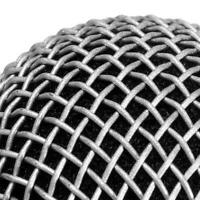 Metal Replacement-Head Mesh Microphone Grille For Shure-SM58 W2U6