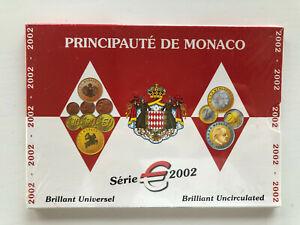 Coffret Monaco Brillant universel Série 2002 sous blister non ouvert etat abimé