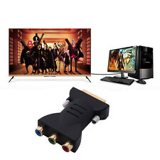 High-Quality DVI-I Male to HDTV [RGB] Video Component Adapter Supports Xbox 360