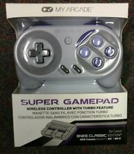 My Arcade Super Gamepad Wireless Controller for Nintendo SNES/NES Classic New
