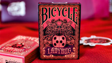 Bicycle Gilded Limited Edition Ladybug (Black) Playing Cards Deck Brand New
