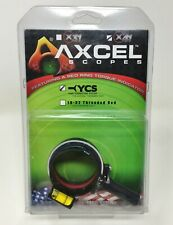 T.R.U. Ball® AXCEL® X-41 Scope Yoke Connection System 41mm, Black, AX41-YCS-BK